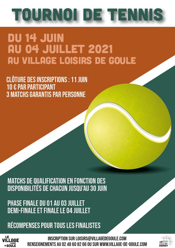 Tournoi de tennis à l'étang de Goule, entre le Berry et l'Allier (18)